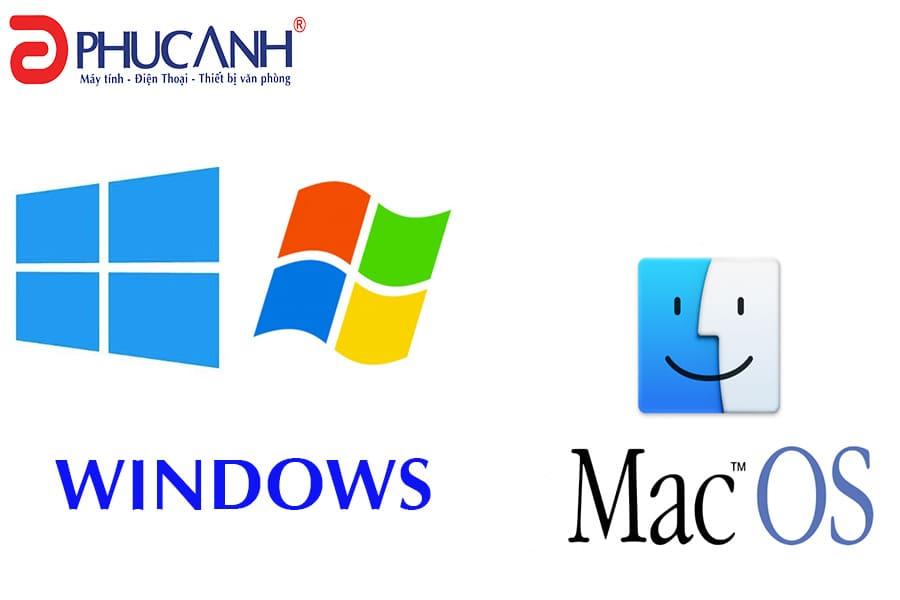 Nên mua máy tính chạy hệ điều hành Windows hay MacOs?