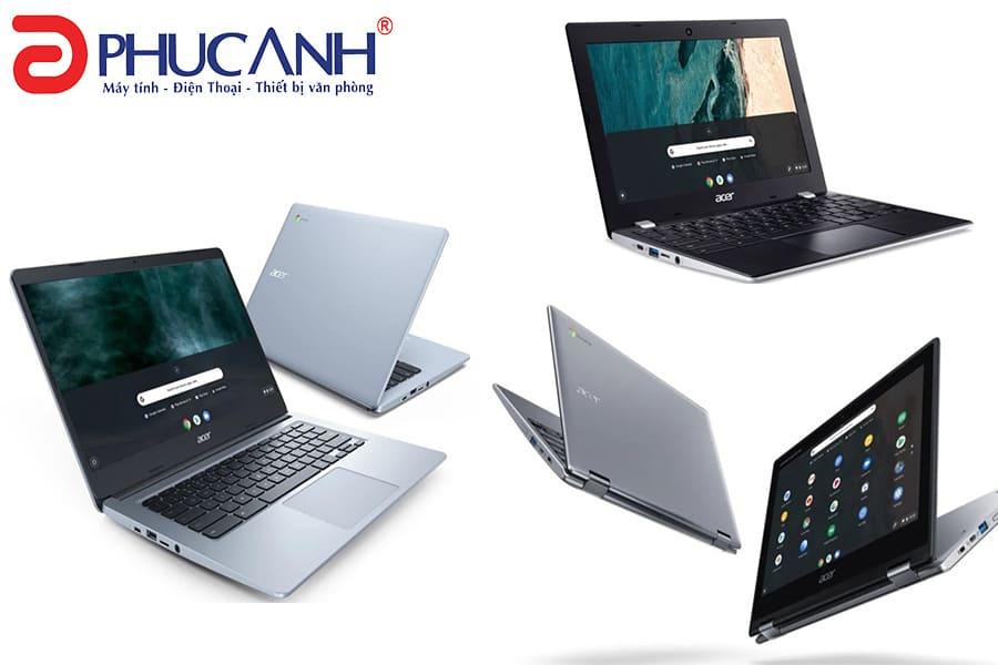 Acer công bố 4 Chrombook mới: Tính di động và giải trí cao