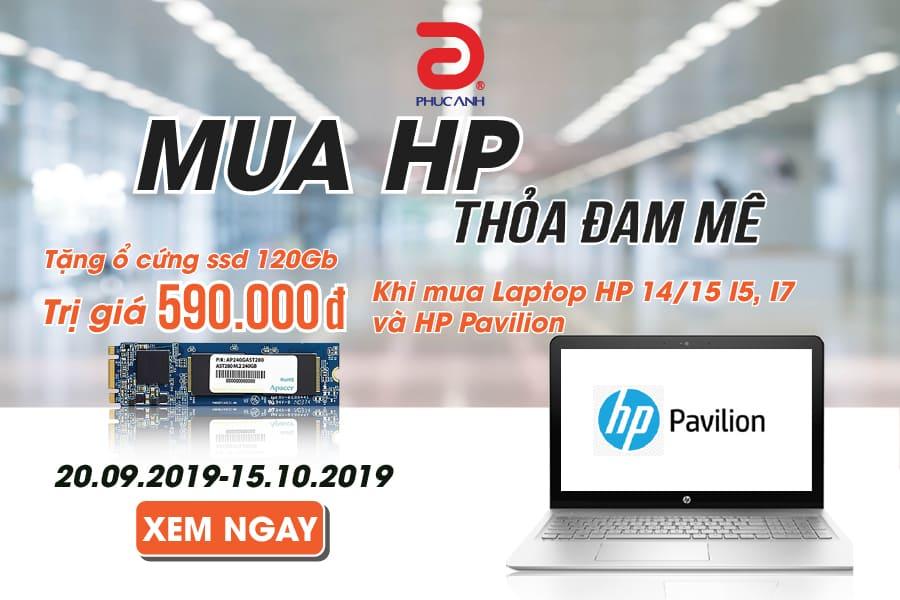 MUA HP - THỎA ĐAM MÊ - NHẬN NGAY SSD