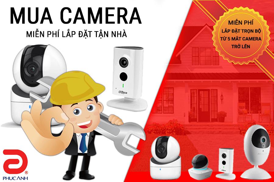 Mua camera - Miễn phí lắp đặt tận nhà