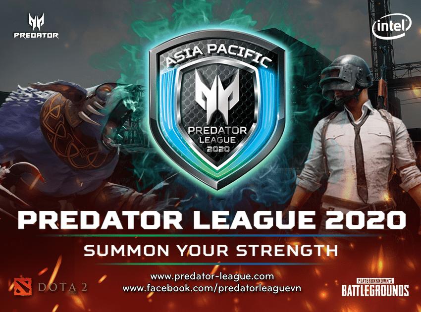 Predator League 2020 - Acer mang Dota 2 vào giải đấu tầm cỡ châu lục