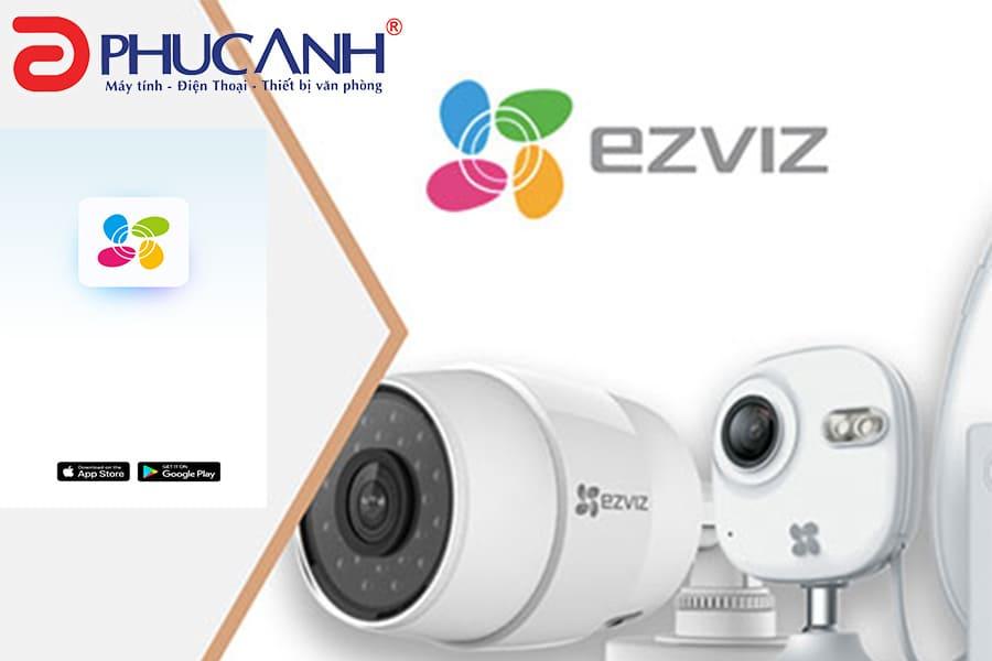 Kết nối camera với điện thoại Android, kết nối camera với điện thoại iphone qua ứng dụng Ezviz
