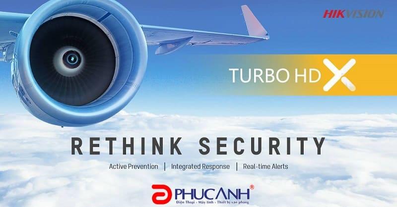 Giải pháp giám sát an ninh  mới của HIKVISION : Dòng Turbo HD X có cảm biến nhiệt, lọc đối tượng chính xác tới 99 %