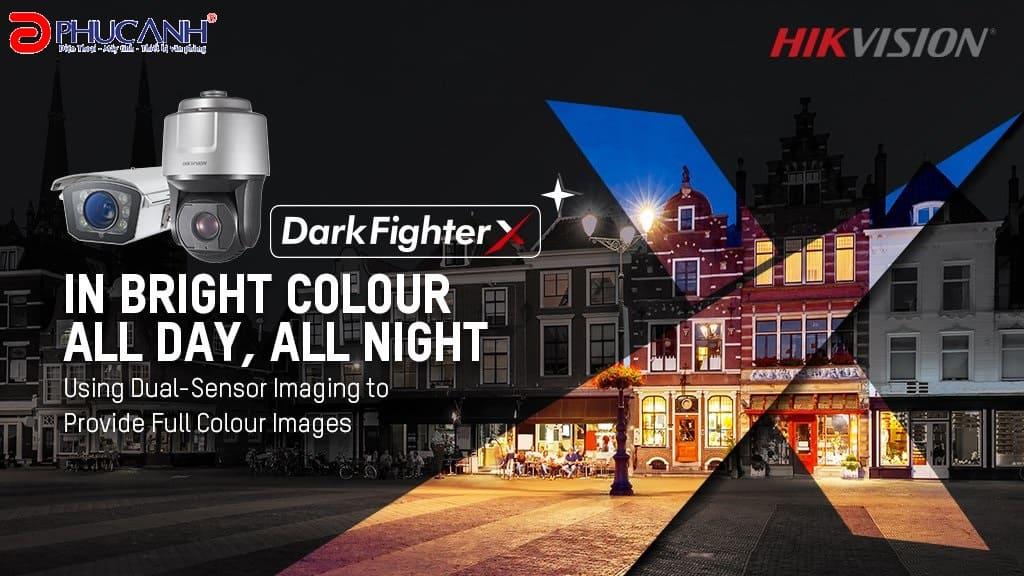 Dòng camera Hikvision 4MP DarkFighterX với độ phân giải cao vừa mới được ra mắt