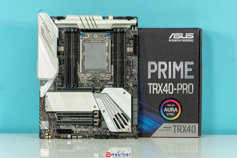 ASUS Prime TRX40-Pro - em út trong gia đình Asus TRX40 có được cưng chiều