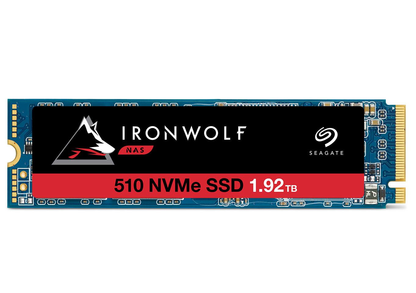 [Công nghệ] Seagate IronWolf 510 - SSD M.2 NVMe dành riêng cho hệ thống lưu trữ NAS