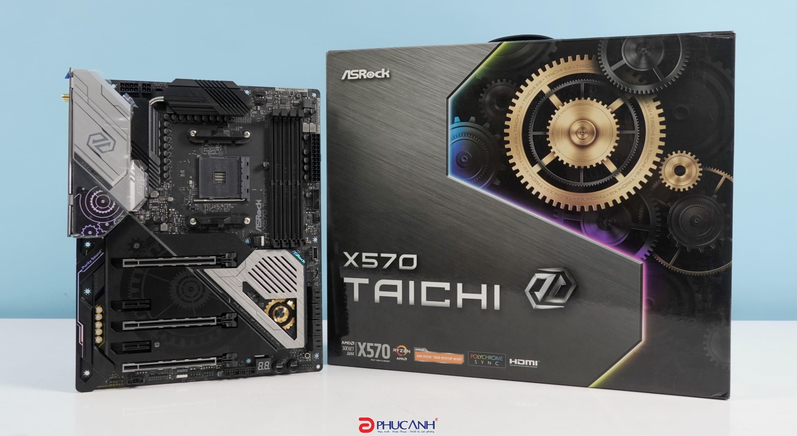 [REVIEW] Asrock X570 Taichi thiết kế cùng diện mạo hoàn toàn mới