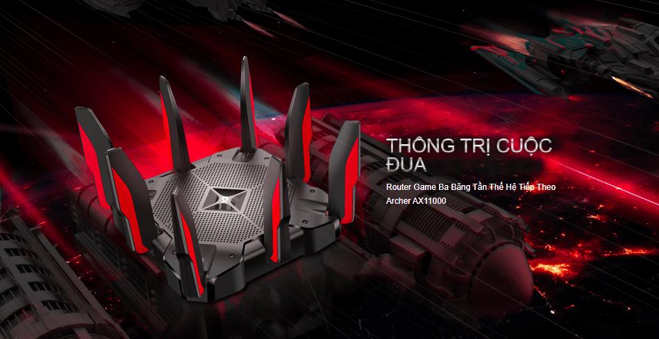 [Công nghệ]TP-Link Archer AX11000 sẵn sàng cho hệ thống Wifi tốc độ cao lên tới 11Gbps