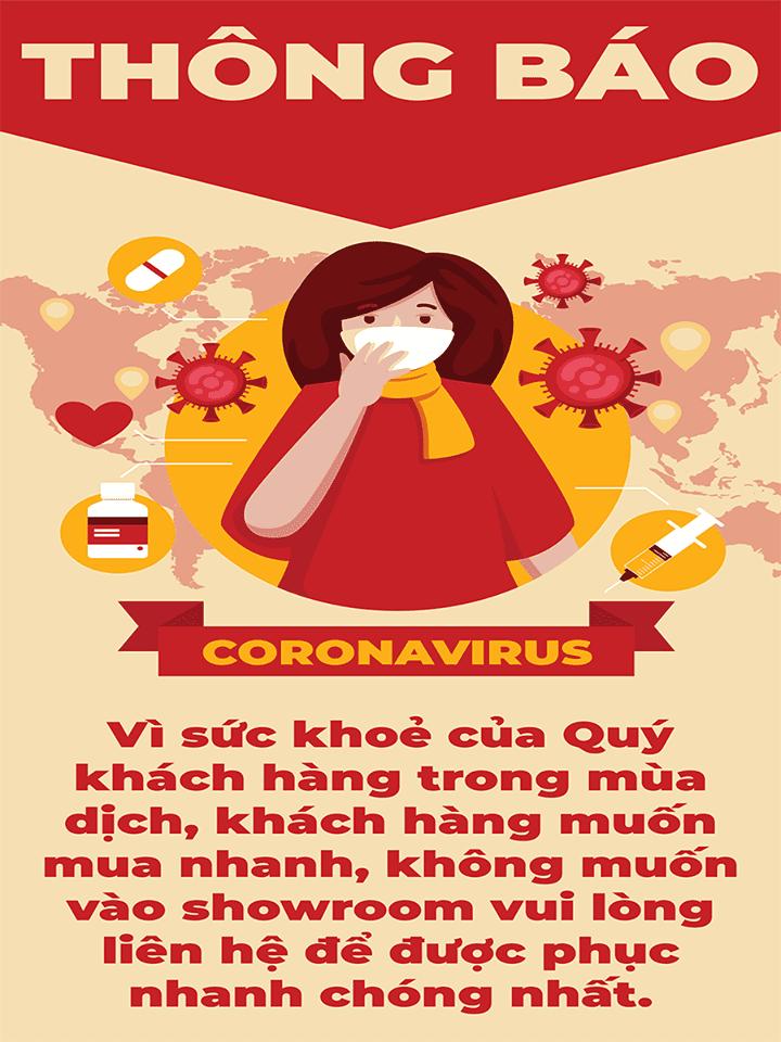 THÔNG BÁO CORONAVIRUS