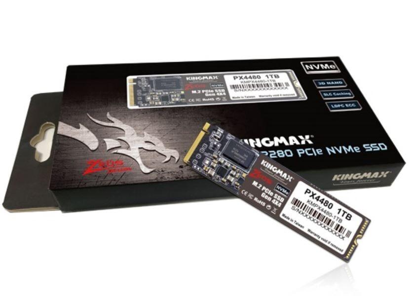 [Công nghệ] Kingmax PX4480 - phiên bản SSD đầu tiên câp nhật lên PCI-Express 4.0