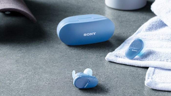 [Công nghệ] Sony ra mắt tai nghe không dây, kháng nước WF-SP800N