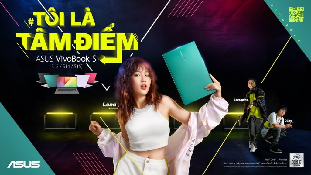 [Công nghệ] Asus cho ra mắt Vivobook S với chủ đề Own The Spotlight – Tôi là tâm điểm