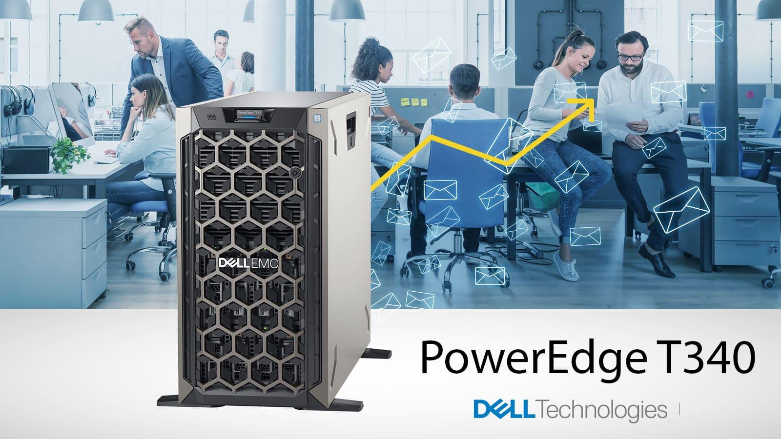 [CÔNG NGHỆ] DellEMC PowerEdge T340 - dòng máy chủ nên góp mặt trong hệ thống của các doanh nghiệp đang phát triển