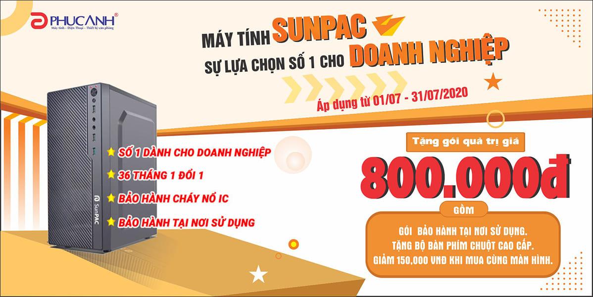 [Khuyến mãi] Máy tính Sunpac - Sự lựa chọn số 1 cho doanh nghiệp - Quà tặng tới 800.000đ