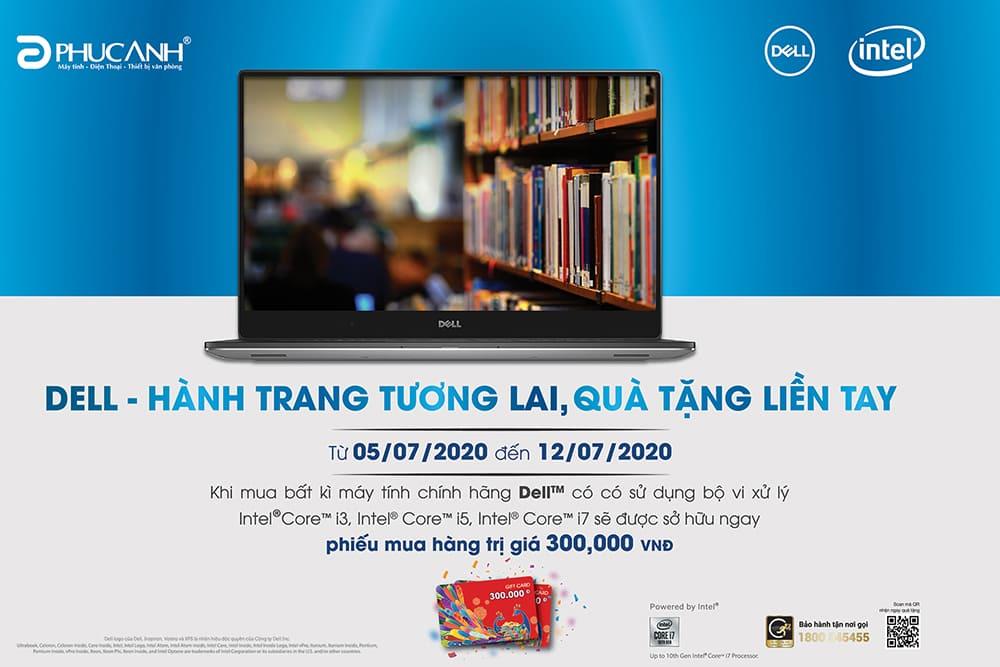 [Khuyến mãi] Dell - Hành trang tương lai, quà tặng liền tay