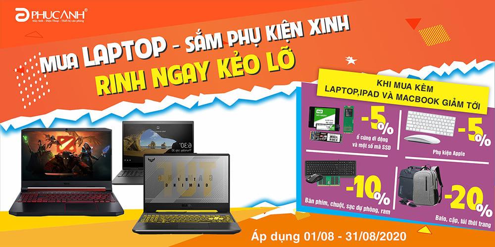 [Khuyến mãi] Mua laptop - Sắm phụ kiện xinh