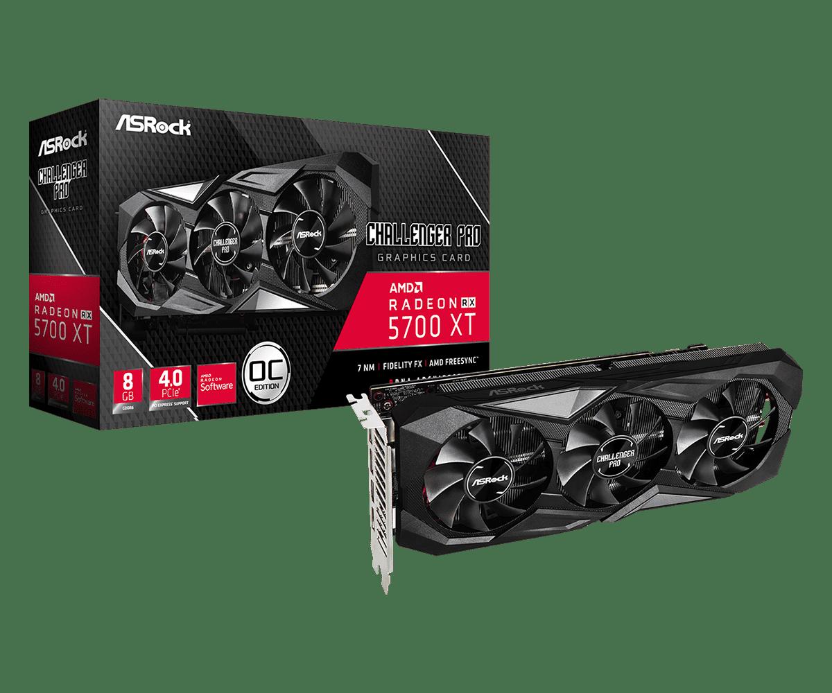 [CÔNG NGHỆ] Asrock  Radeon RX 5700 XT Challenger Pro 8G OC - thêm lựa chọn mới cho dòng VGA AMD RX 5700 Series