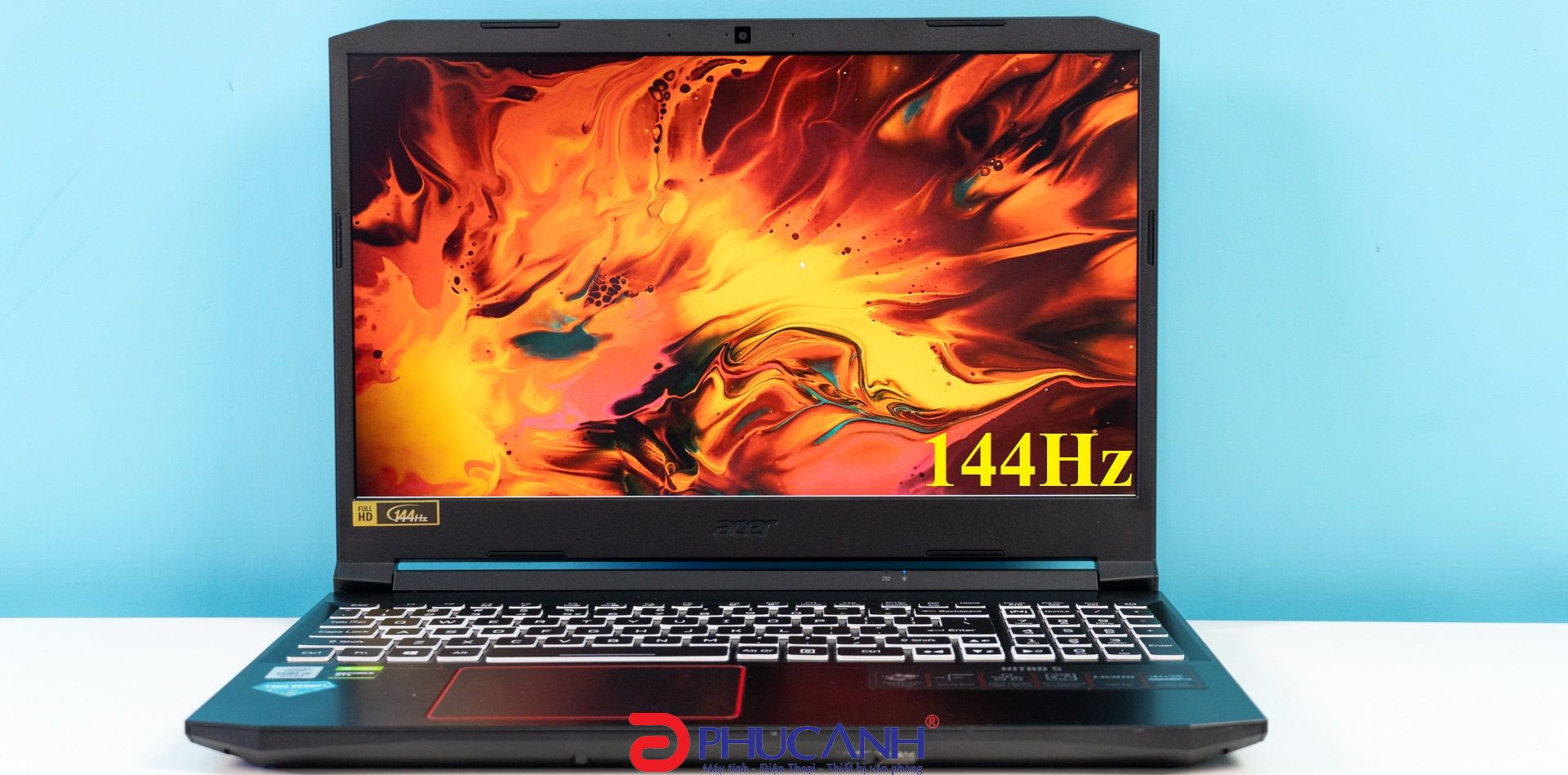 [Review] Acer Nitro 5 2020(144Hz) - 144Hz khác gì 60Hz