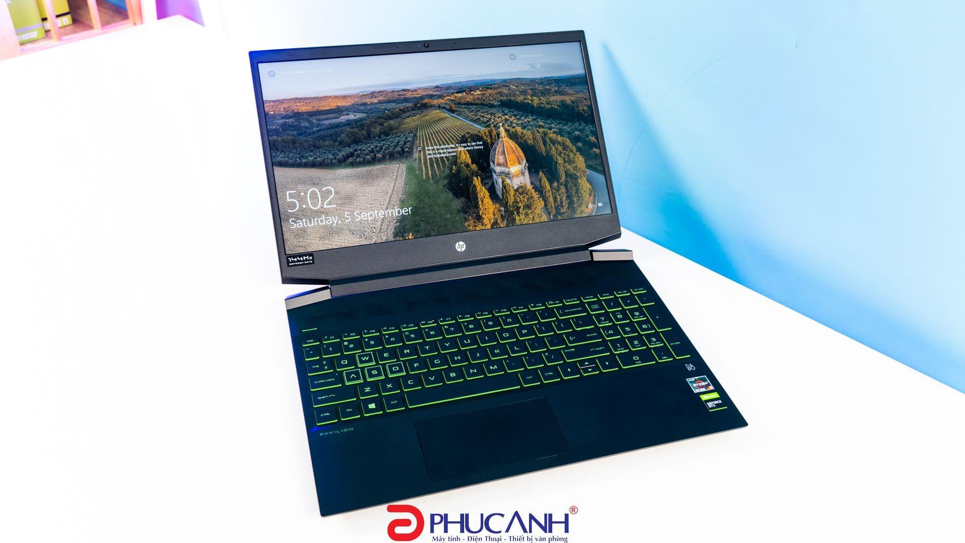 [Review] HP Pavilion gaming 15 2020 – Thiết kế tinh tế, cấu hình khỏe, màn hình 144Hz