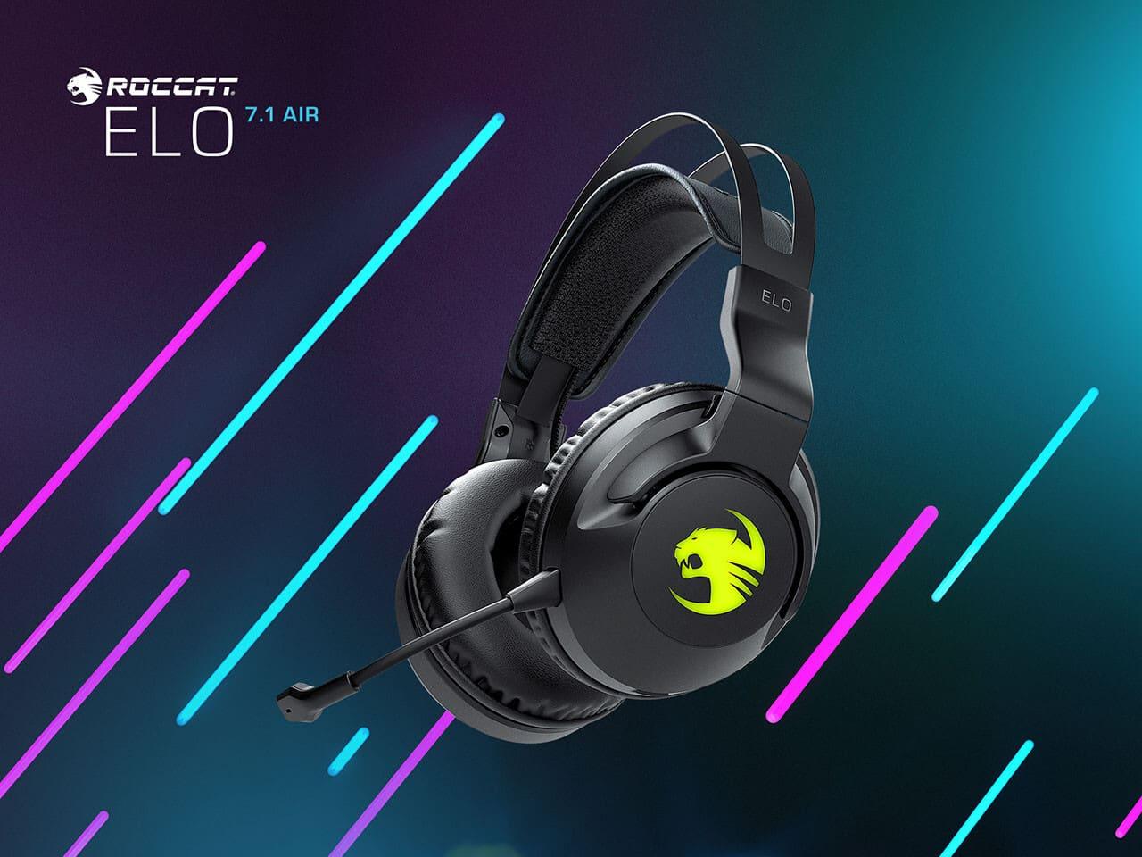 [GIỚI THIỆU] - ROCCAT giới thiệu dòng tai nghe gaming mới mang tên Elo