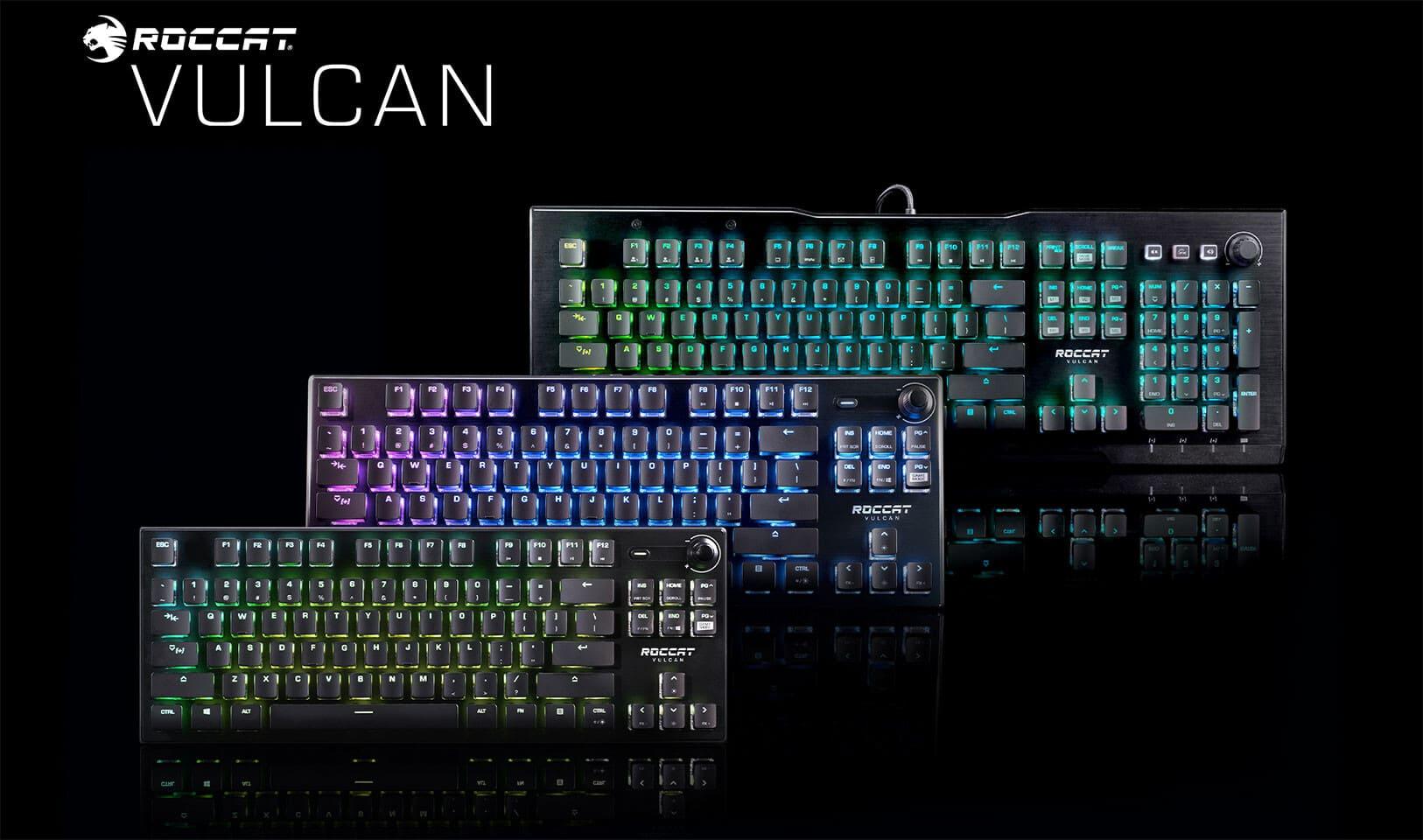 [GIỚI THIỆU] - ROCCAT công bố loại switch mới và một loạt bàn phím mới về dòng Vulcan