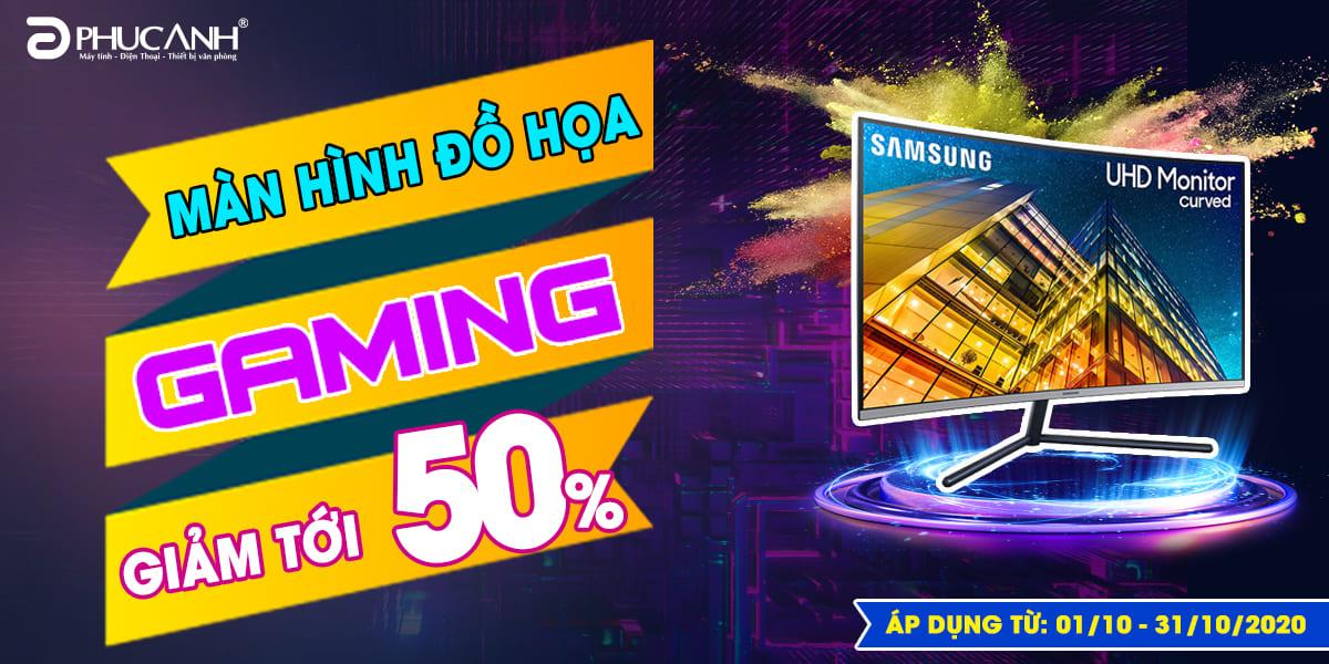 [Khuyến mãi] Màn hình Đồ họa - Gaming giảm tới 50%