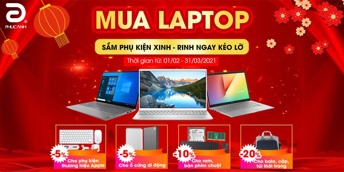 [Khuyến mại] Mua laptop - Sắm phụ kiện xinh