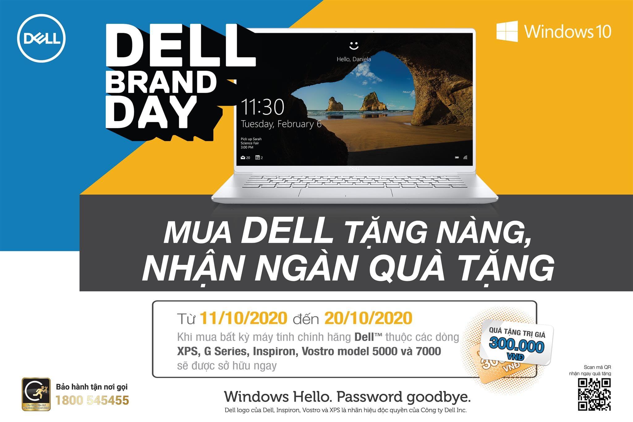 [Khuyến mãi] Mua Dell tặng nàng - Nhận ngàn quà tặng