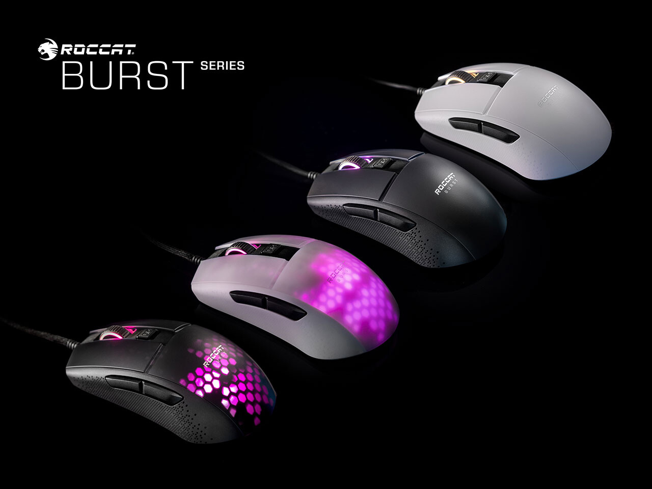 [Giới thiệu] Roccat ra mắt chuột chơi game mới | Roccat Burst Series