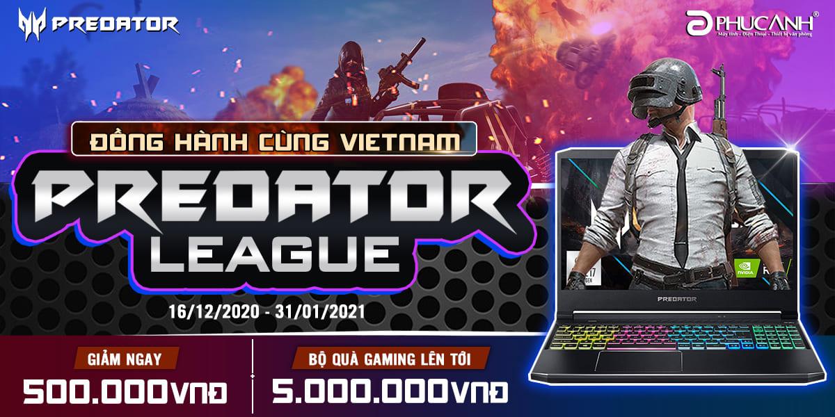 [Khuyến mại] Đồng hành cùng Vietnam Predator League