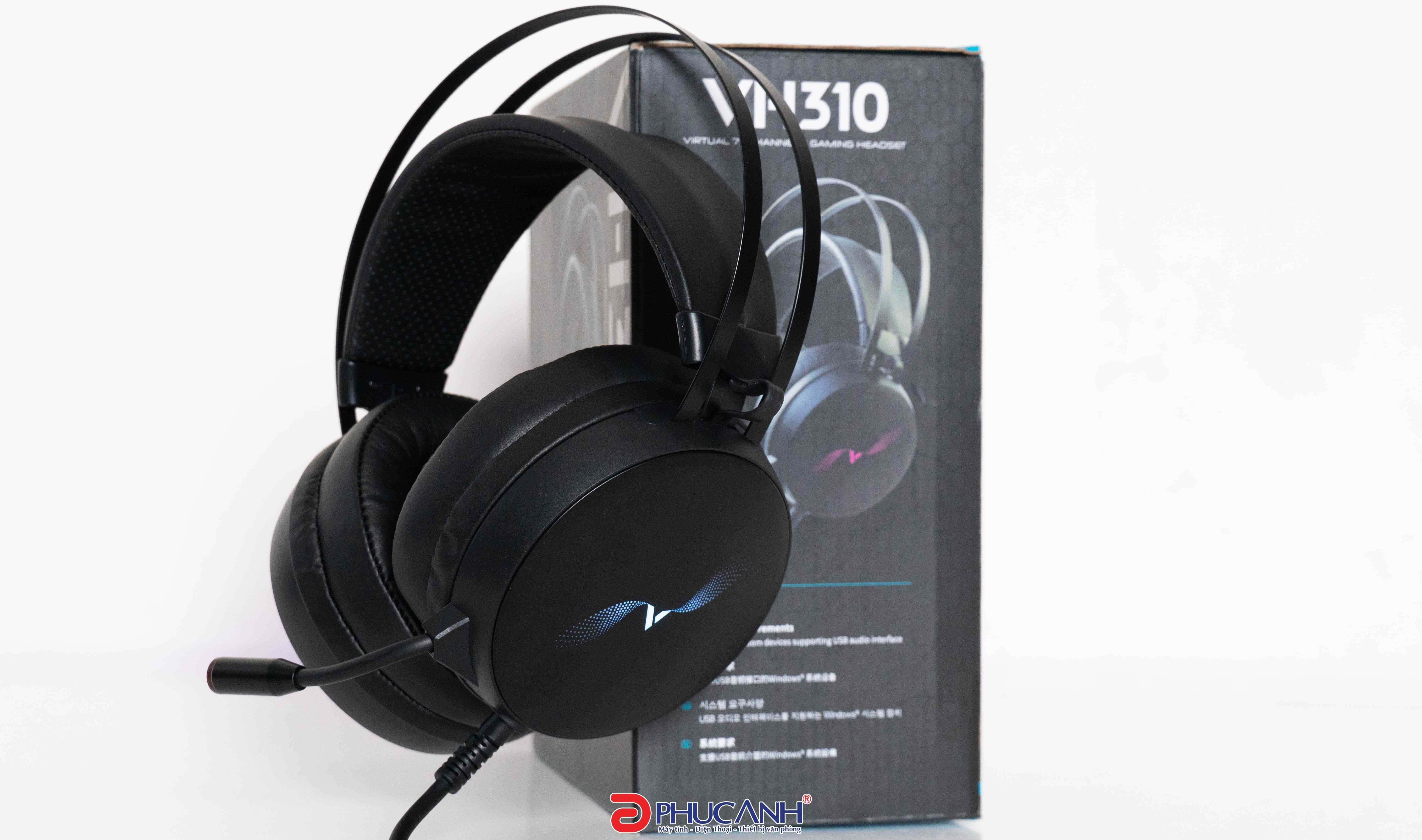 [Review] Rapoo VH310 | Chiếc tai nghe giá rẻ có vòm âm Virtual 7.1