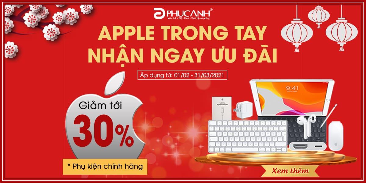[Khuyến mại] Apple trong tay - Nhận ngay ưu đãi