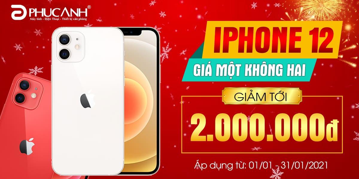 [Khuyến mại] Iphone 12 - Giá một không hai