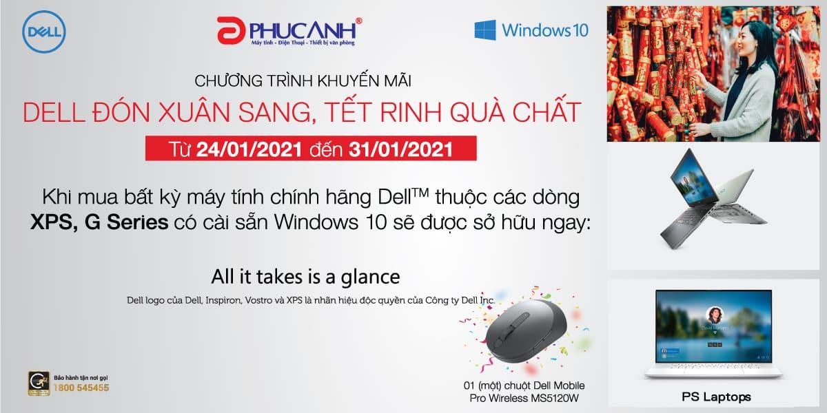 [Khuyến mại] Dell đón xuân sang - Tết rinh quà chất