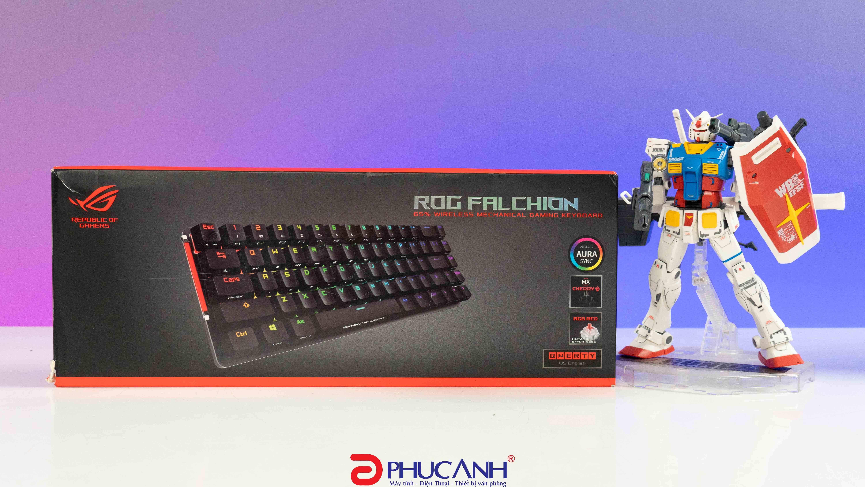 [Review] Asus Rog Falchion | Bàn phím mini switch Cherry đèn RGB cực đẹp mắt
