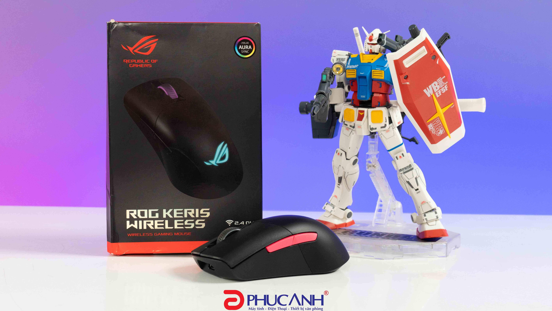 [Review] Asus Rog Keris Gaming Mouse | Phiên bản chuột không dây cực nhẹ của Asus