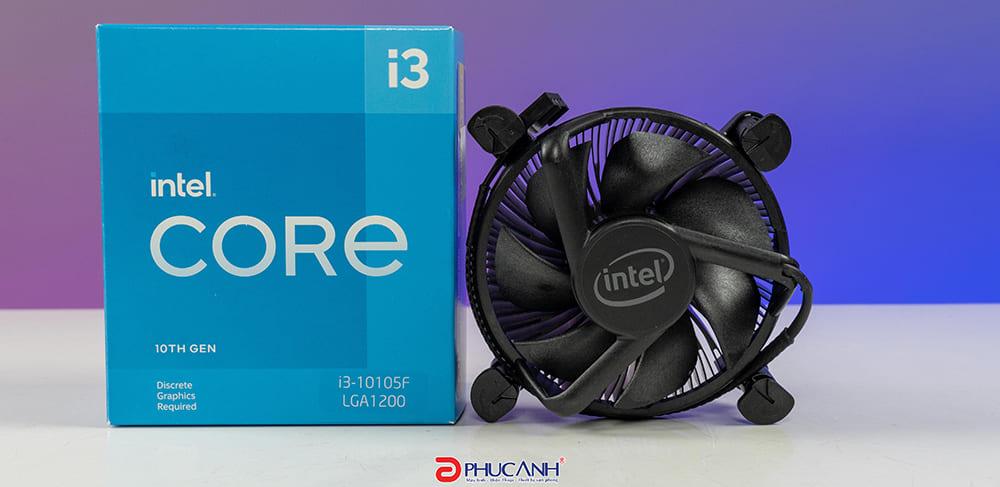 [Review] Đánh giá CPU Intel Core i3 10105F