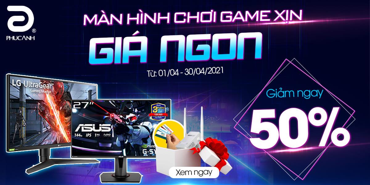 [Khuyến mại] Màn hình chơi game XỊN - Giá NGON