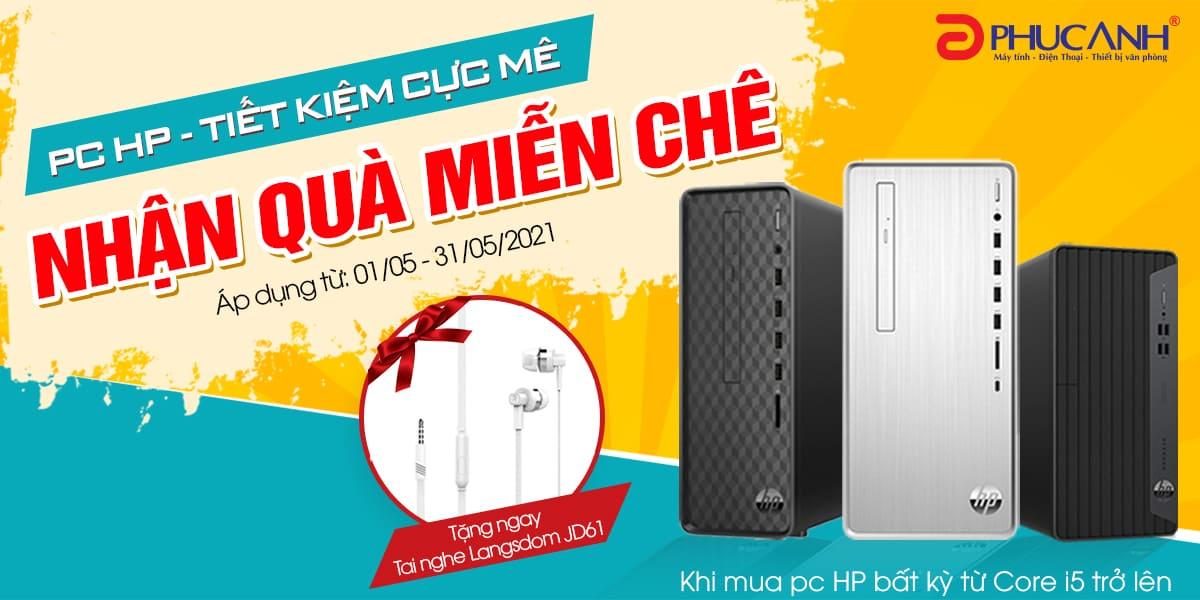 [Khuyến mại] PC HP - Tiết kiệm cực mê - Nhận quà miễn chê