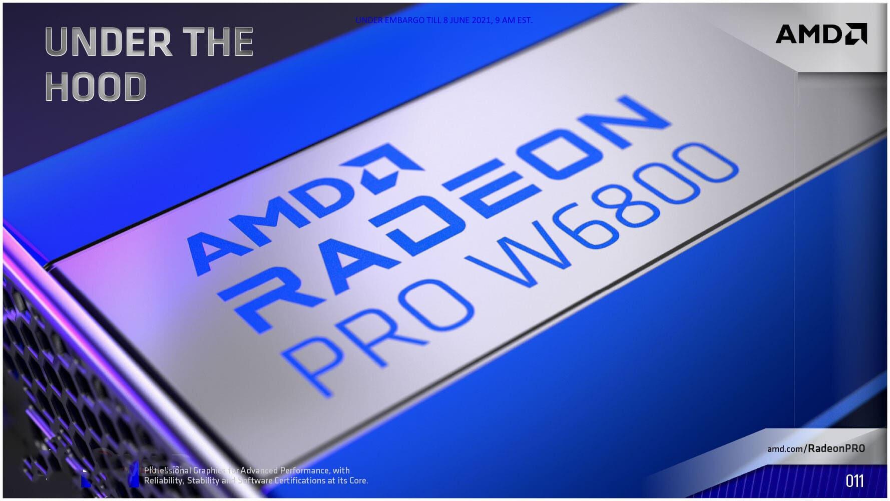 [Tin tức] AMD giới thiệu dòng AMD Radeon PRO W6000 Series mang kiến trúc RDNA2 tới cho cấu hình máy trạm worksations chuyên nghiệp