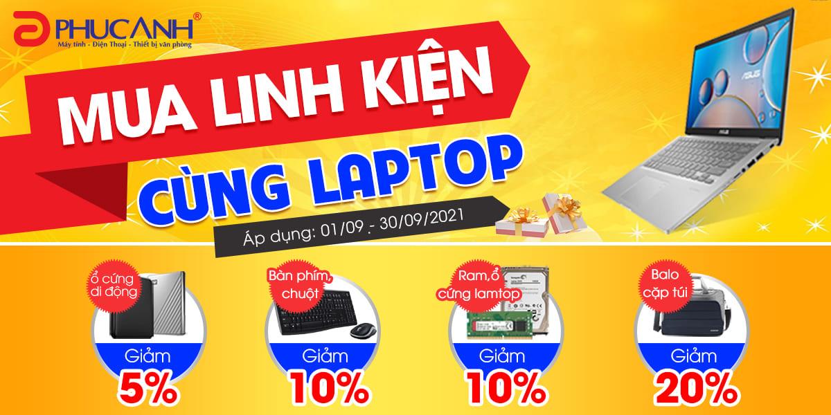 [Khuyến mại] Mua linh kiện cùng laptop - Giảm tới 20%