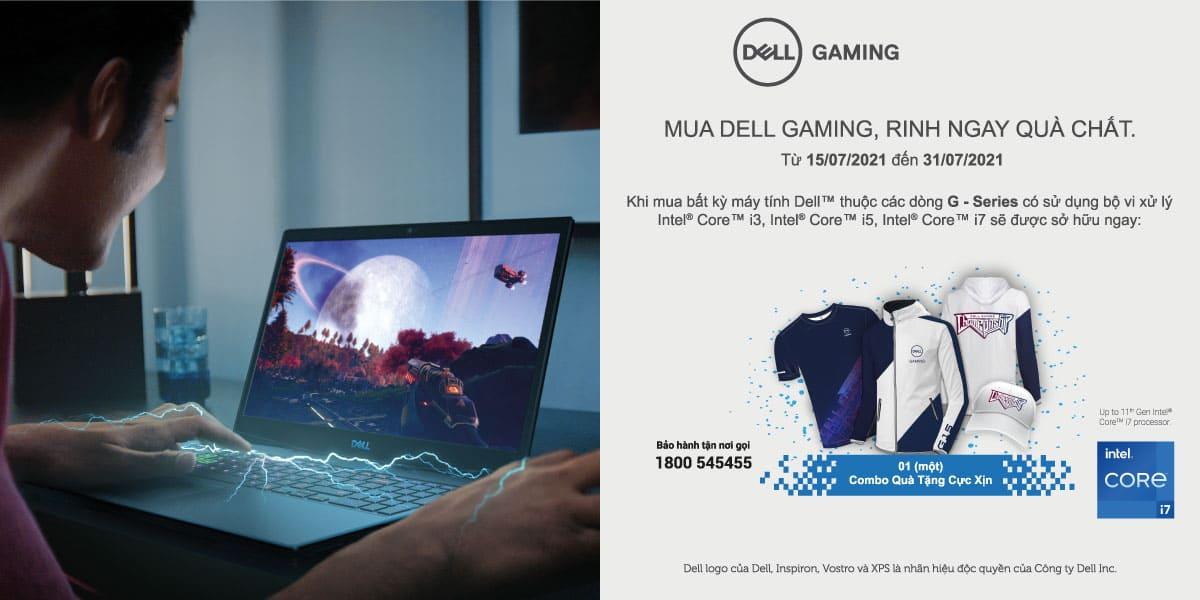 [Khuyến mại] Sắm Dell Gaming - Rinh ngay quà chất