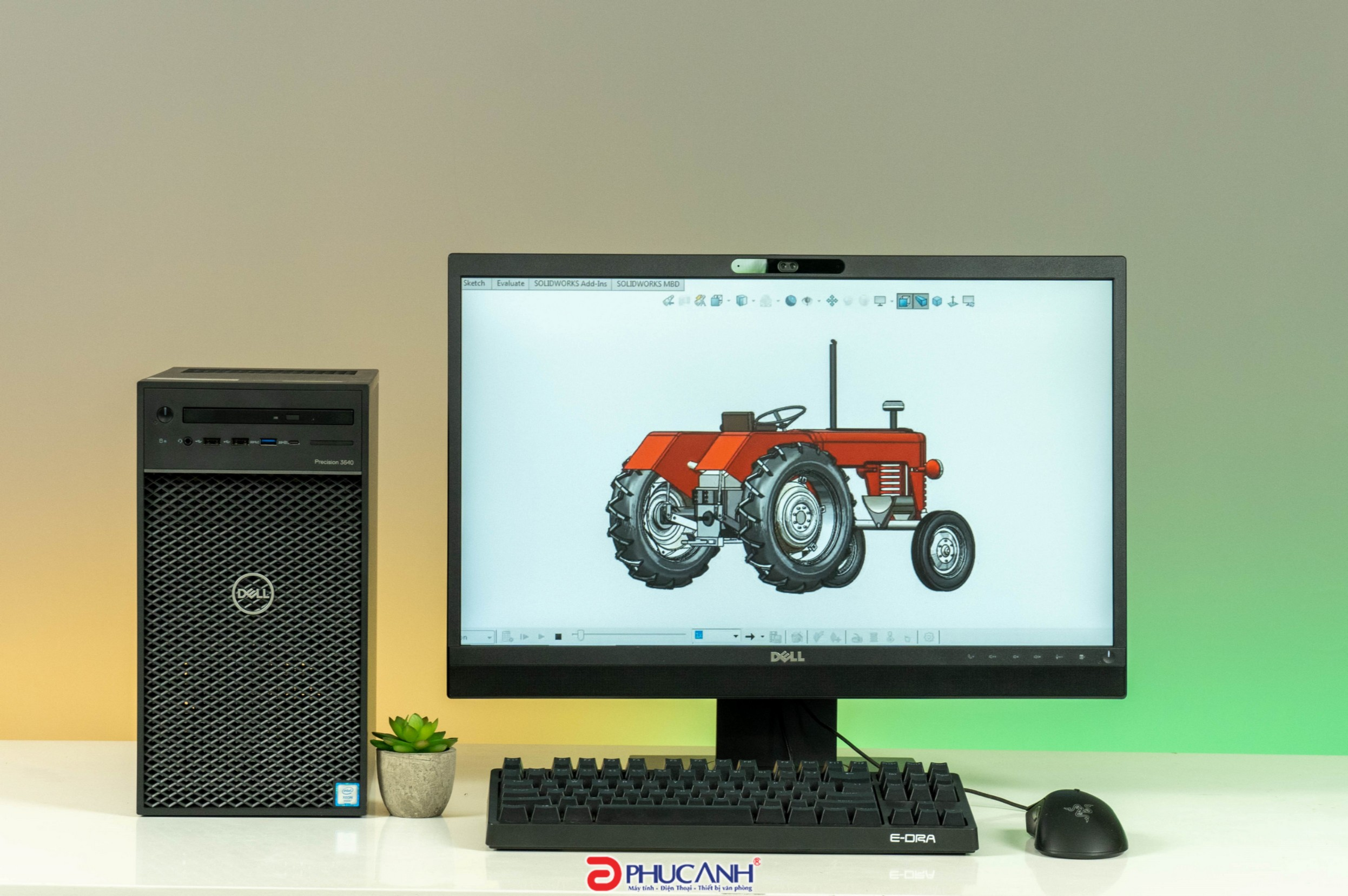 Review Dell Precision 3640 sử dụng Xeon W 1200 Series - Khi sự ổn định được đề cao