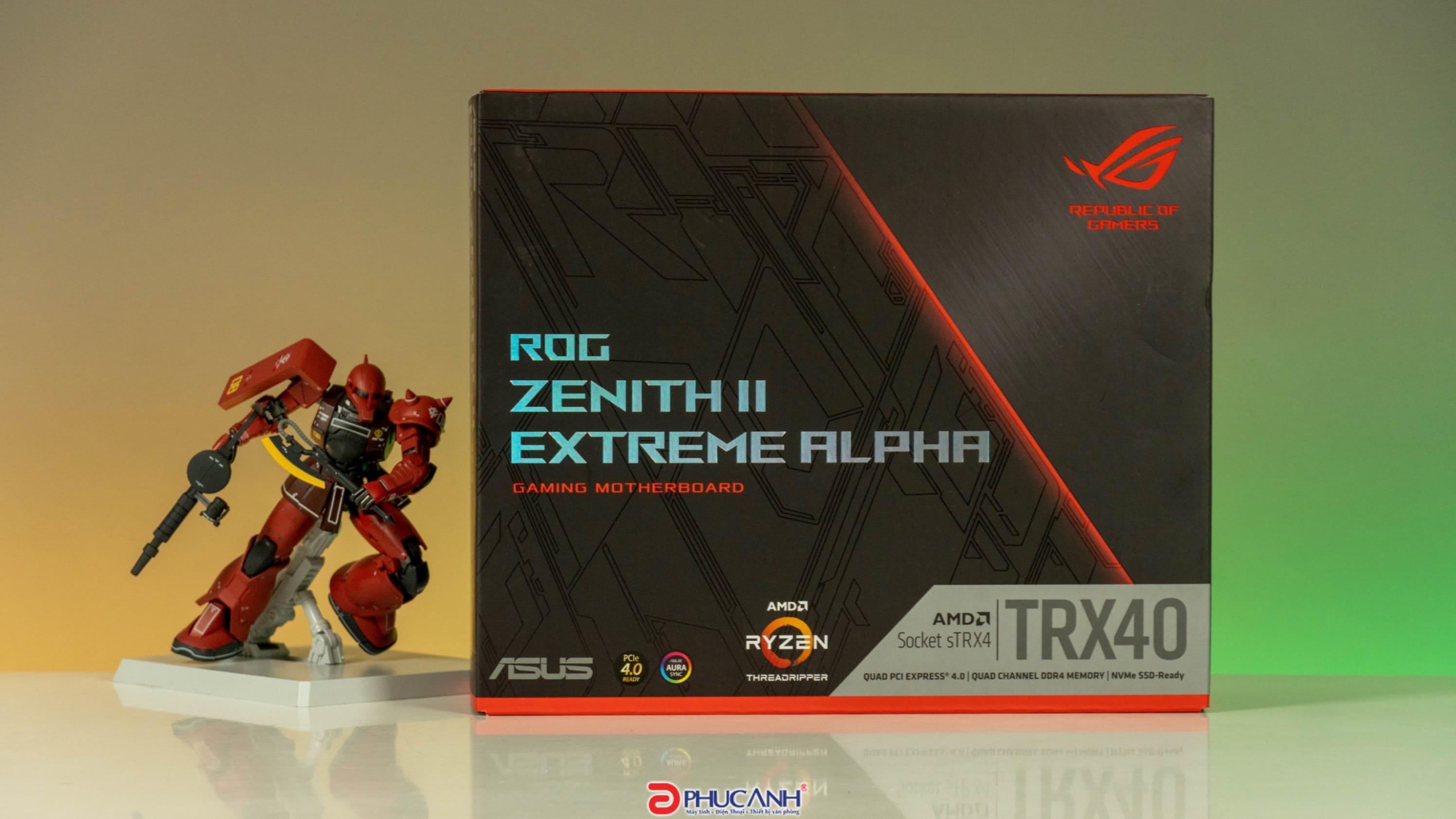 [Unbox] ASUS ROG Zenith II Extreme Alpha - Khai mở toàn bộ hiệu năng của AMD Ryzen Threadripper 3000 Series