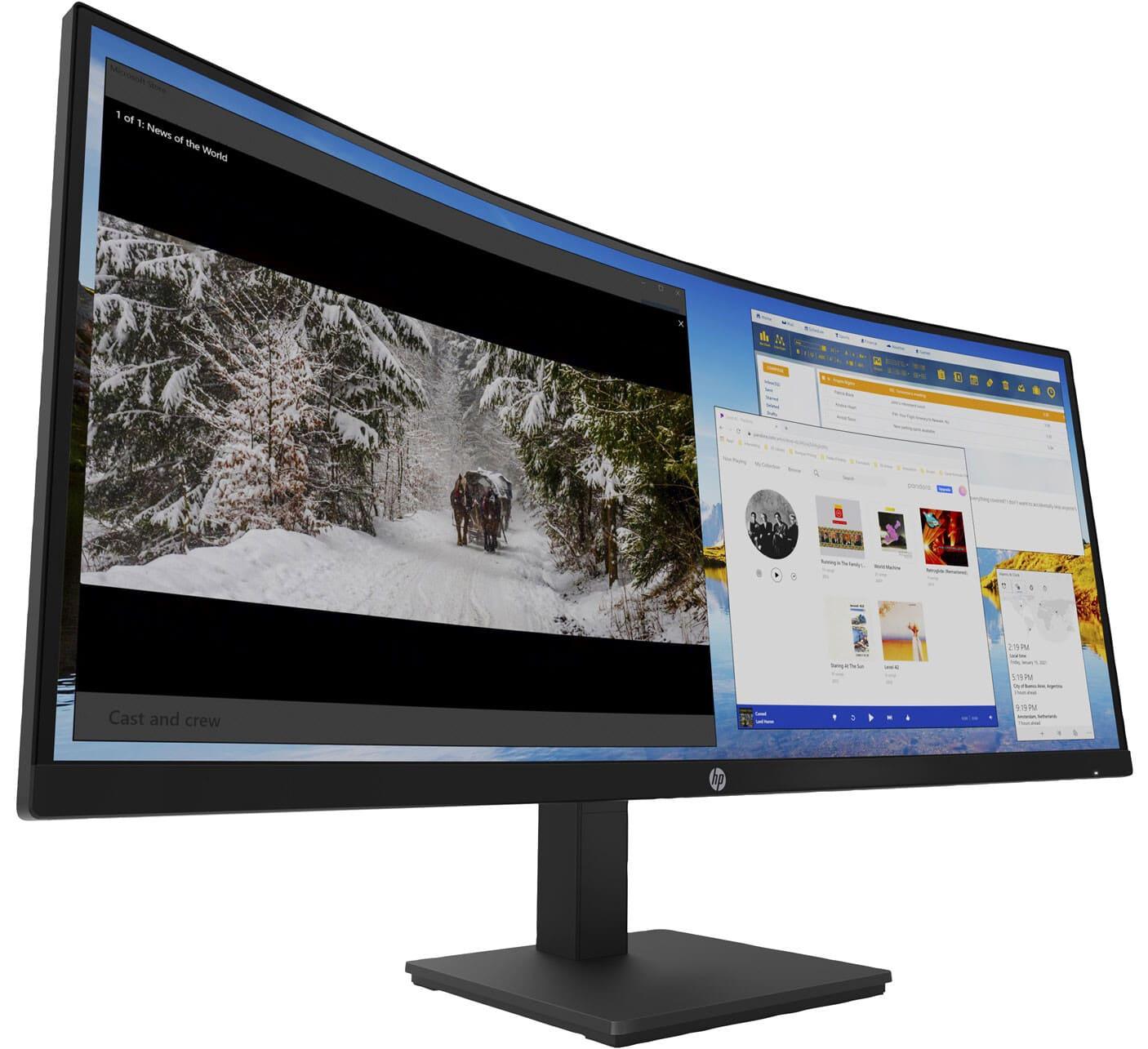 [Tin tức] HP công bố cặp màn hình USB-C mới