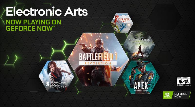 [Tin tức] Hàng loạt tựa game đình đám của EA được đưa lên NVIDIA GeForce NOW
