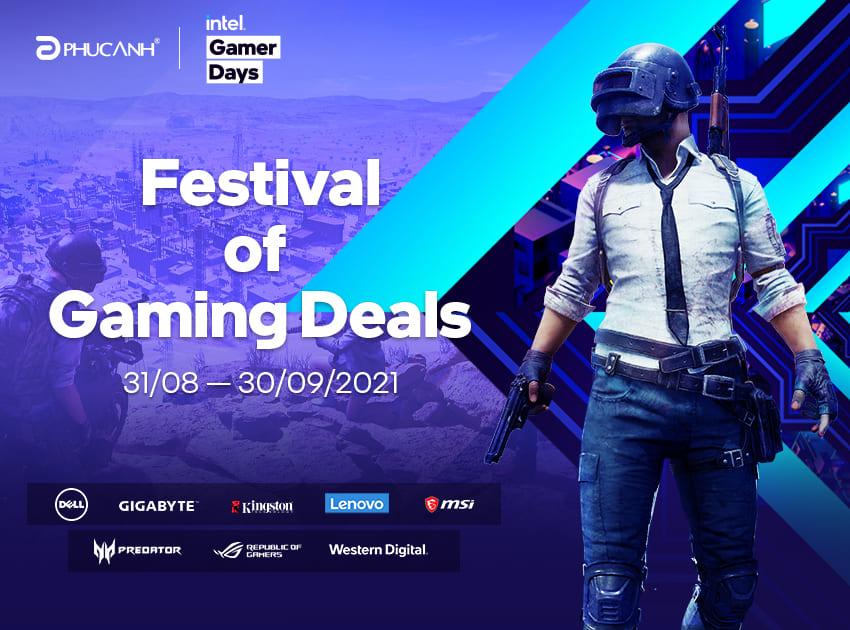 Phúc Anh đã có mặt tại Intel Gamer Days!