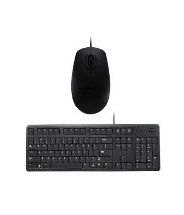 Bộ phím chuột  Dell KB212B + MS111 ( USB)