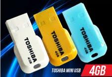 USB Toshiba Mini 8Gb