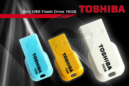 USB Toshiba Mini 16Gb